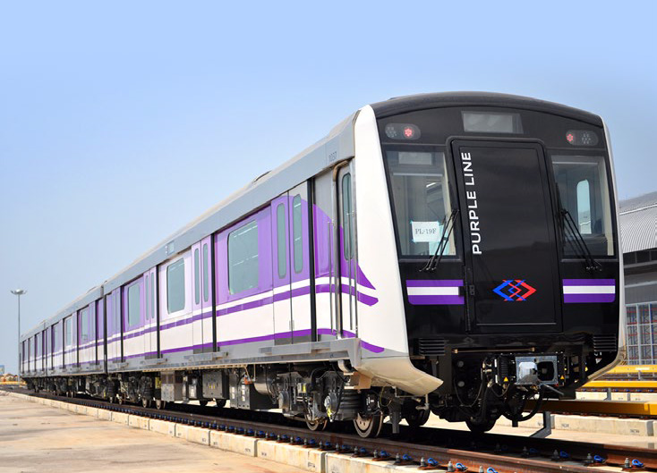 MRT Purple Line in Bangkok, Thailand