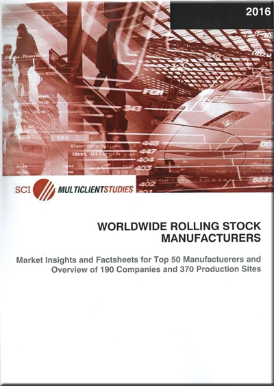 Worldwide Rolling Stock Manufacturers 2016